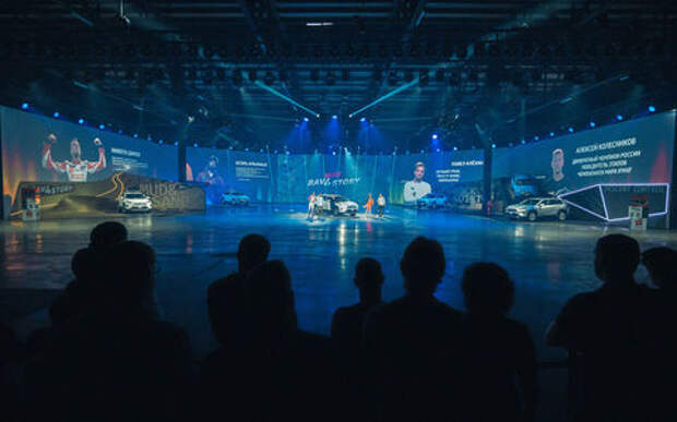 Toyota представила RAV4: он едет на двух колесах!