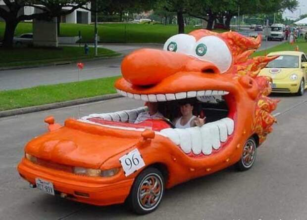 12. Фанни-кар автомобили, концепт-кары, странности