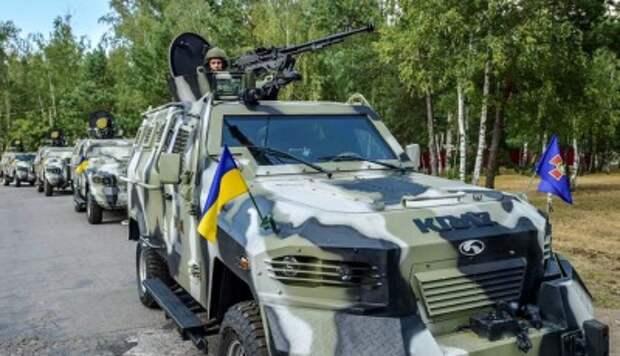 Украинские силовики возвращаются с войны в Донбассе на войну в Киеве