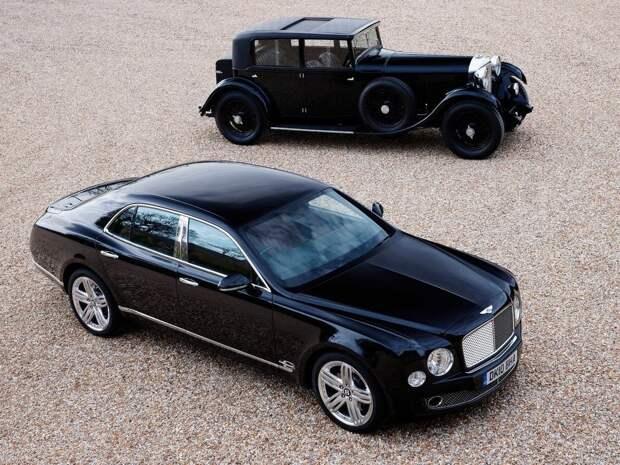 28. Bentley авто, история