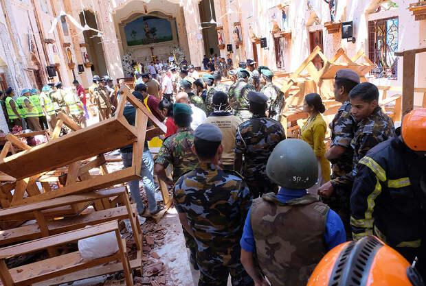 Власти Шри-Ланки связали теракты в храмах с атаками на мечети в Новой Зеландии