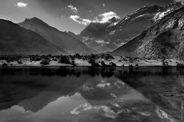 bnwmountains07 Черно белые фотографии гор