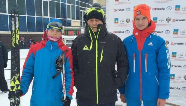 Двое спортсменов из Подольска стали победителями первенства России по биатлону