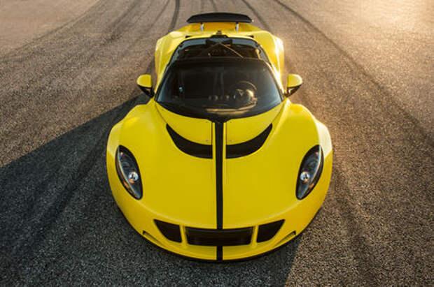 Яд для Bugatti: американцы анонсировали новый рекорд скорости