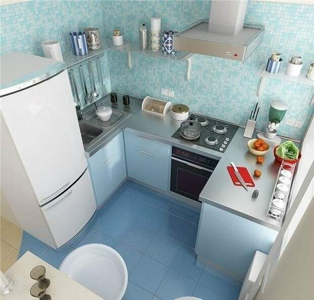 Очень маленькая квартирка?