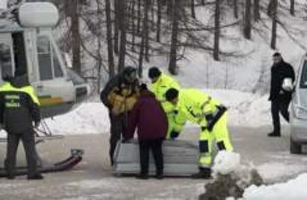 Двое детей погибли из-за лавины в Альпах