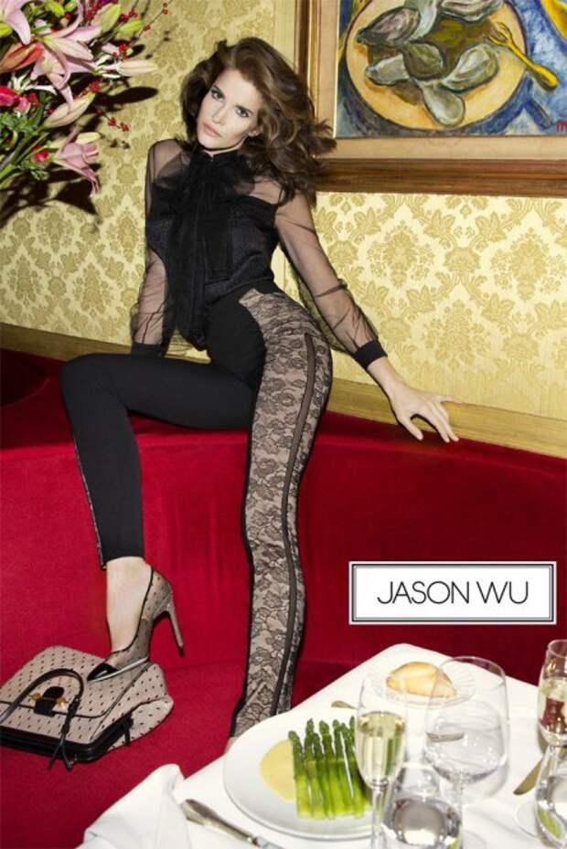 Стефани Сеймур (Stephanie Seymour). Возраст: 44 года. Кампания: Jason Wu.