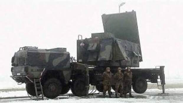 РЛС «Патриота» AN/MPQ-65
