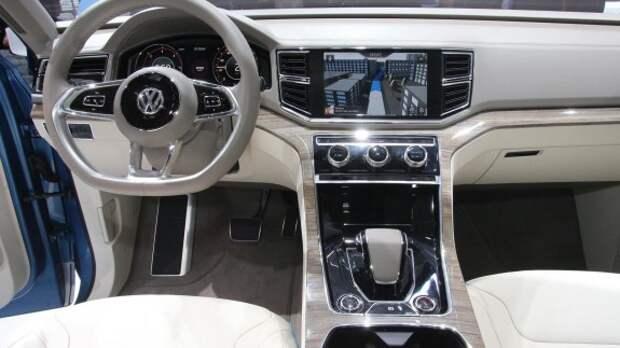 Подтвержден выход семиместного кроссовера VW