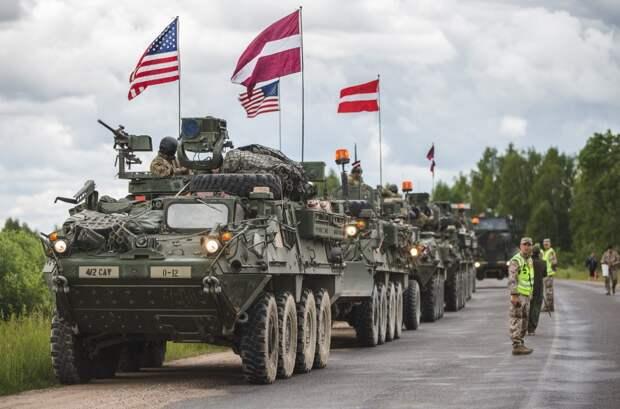 Латвия, Литва и Эстония заманивают Пентагон на свою территорию