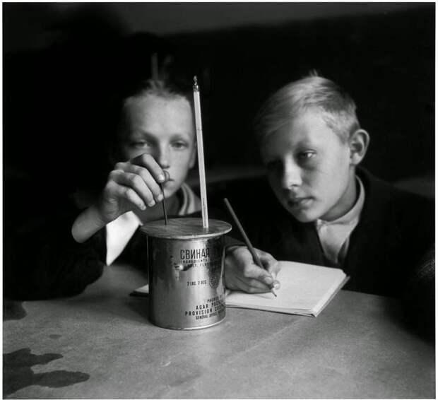 Дети послевоенной Европы