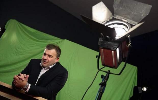 Актер Михаил Пореченков.