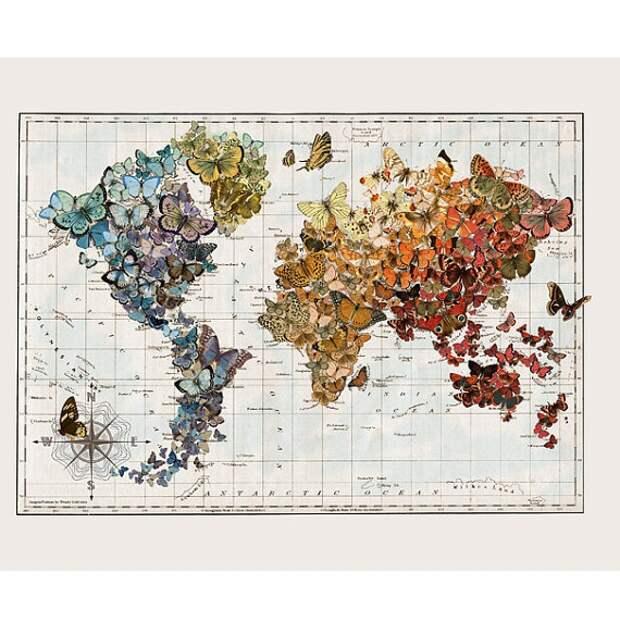 Переделка карты мира
