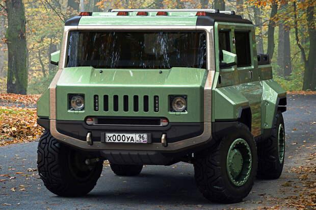 Вот что получится, если объединить Hummer и УАЗ-2206