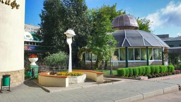 Памятник пельменю в Ижевске вернется после ремонта здания кафе