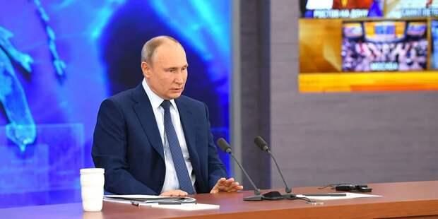 Путин высказался на тему вакцинации