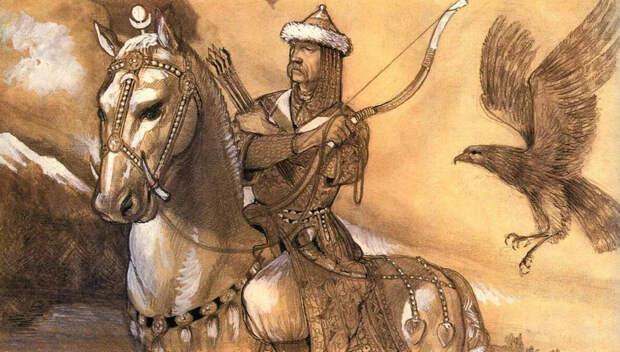 Хазарский Каган (Иллюстрация из открытых источников)