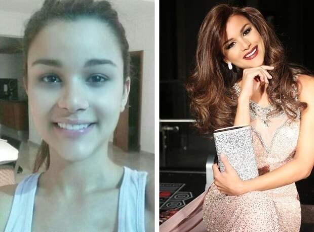 Участницы конкурса «Мисс Вселенная» показали, как они выглядят без макияжа