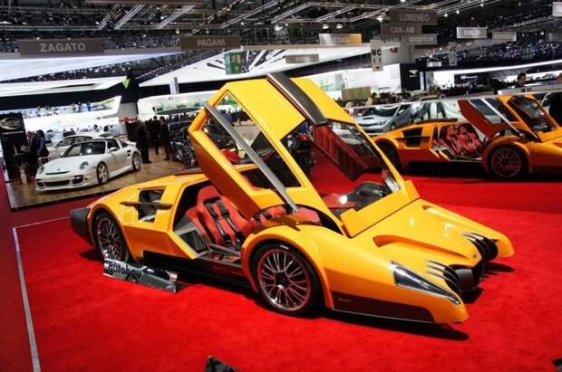 5. Sbarro Autobau  автомобили, концепт-кары, странности