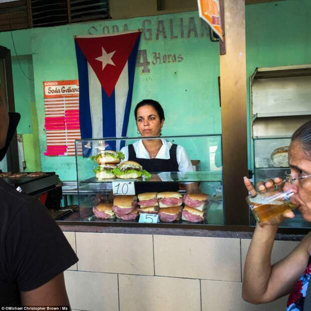 Закусочная в Гаване