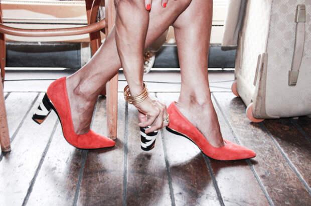Трансформируемая обувь от дизайнера из Франции Тани Хит (Tanya Heath).