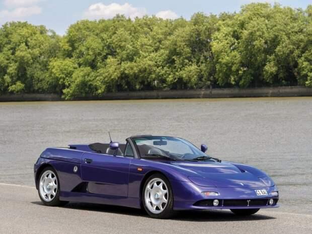 De Tomaso Guara Spyder 1997-1999 – Фиолетовая редкость De Tomaso, De Tomaso Guara, maserati, авто, автодизайн, автомобили, аукцион, родстер