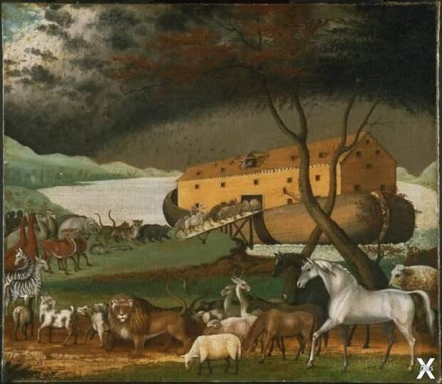Эдвард Хикс. Ноев Ковчег, 1846