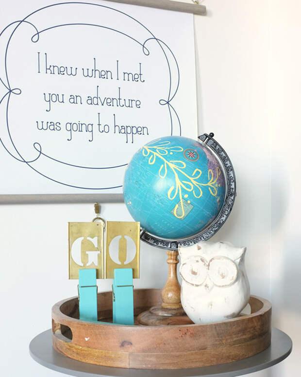 Творческая география: 25 идей перевоплощения старого глобуса