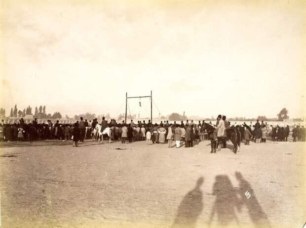 Публичная казнь Мирзы Резы Кермани, убийцы Наср-эд-Дин-шаха. 12 августа 1896