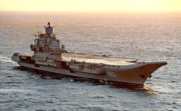 The Drive: России следует отказаться от проклятого авианосца