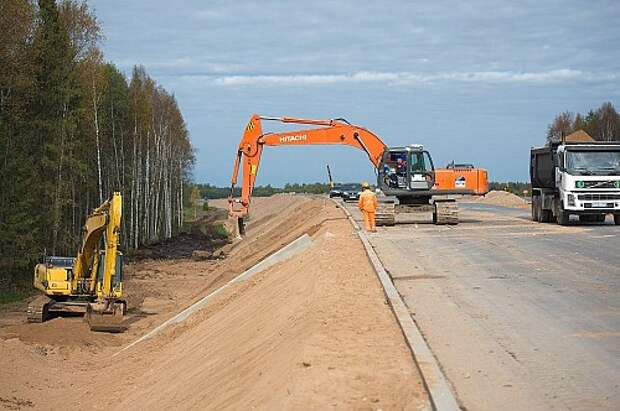 Новая автотрасса Москва–Петербург будет полностью открыта в мае 2018 года