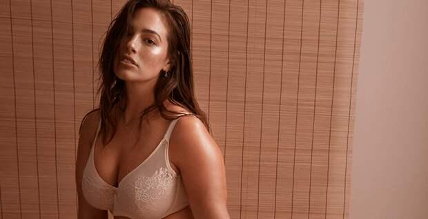 Эшли Грэм разделась для рекламы собственной линии белья