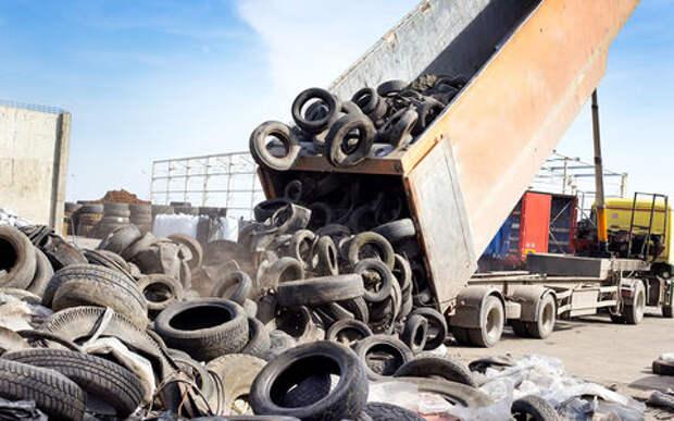 5 вариантов, куда деть старые шины и не попасть на штраф