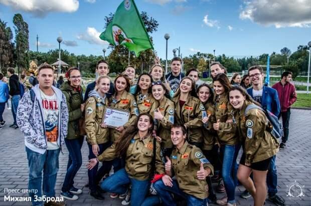 Студенческие отряды Севастополя отпраздновали закрытие третьего трудового семестра