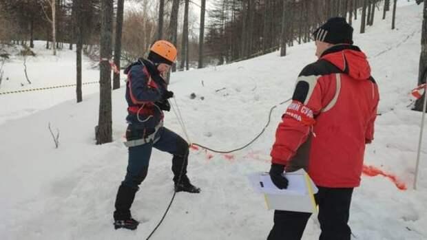 Впервые соревнования по спортивному туризму на лыжной дистанции провели в Магадане