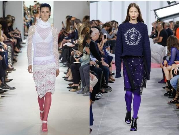 Можно ли надевать колготки с босоножками: рекомендации стилистки
