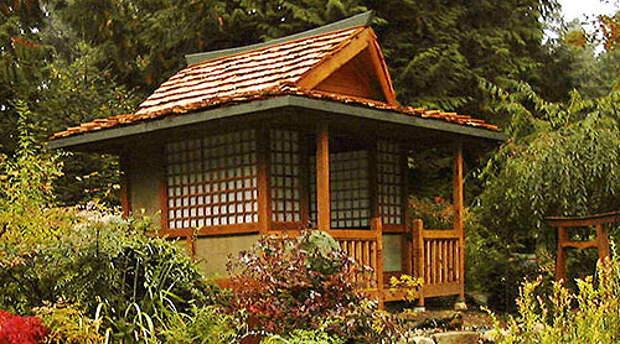 Дома в японском стиле — подборка идей для дачи