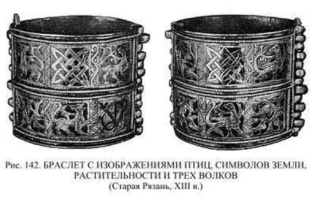 Языческие мотивы Древней Руси .