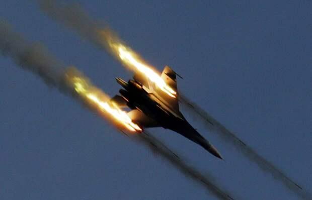 Ракетный удар, военная авиация России. Источник изображения: https://tass.ru/