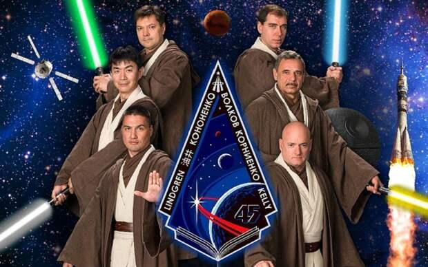 Забудьте о «Звездных войнах»… Это плакаты миссий МКС!