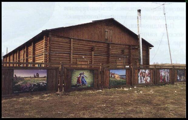 Деревня Вершинино, кенозерский национальный парк. Кенозерье