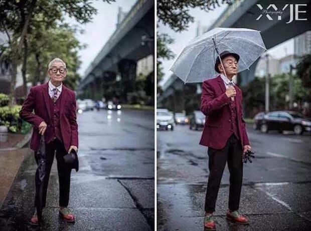Пожилой модник