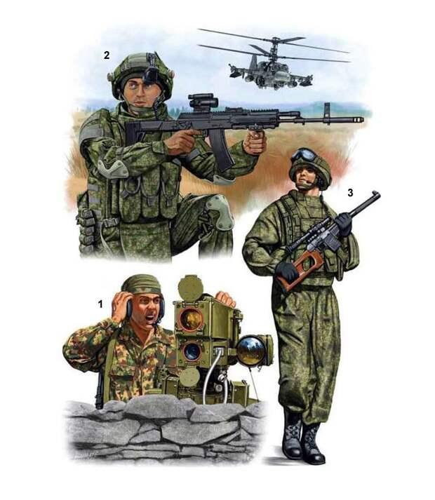 Современный российский спецназ (1) иллюстрации, россия, спецназ