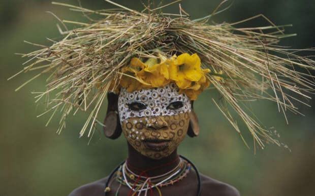 Самое модное африканское племя