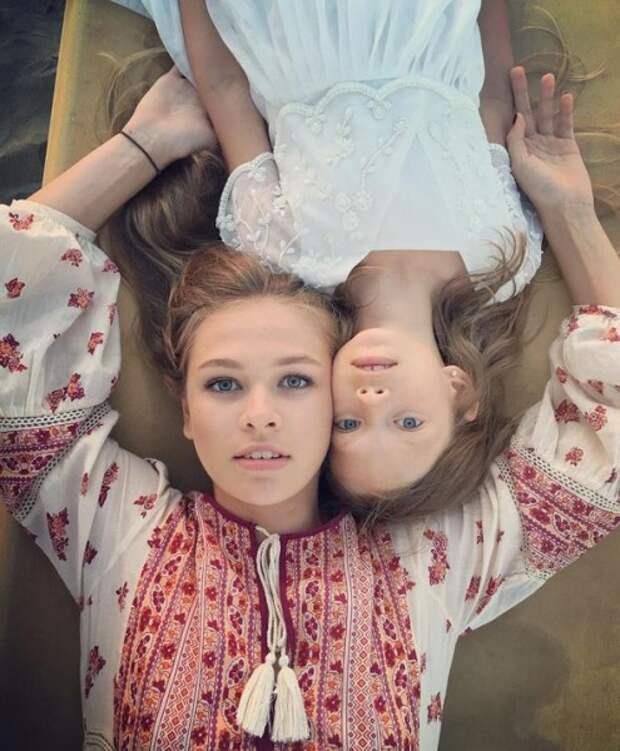 Вера Брежнева опубликовала фото своих дочерей