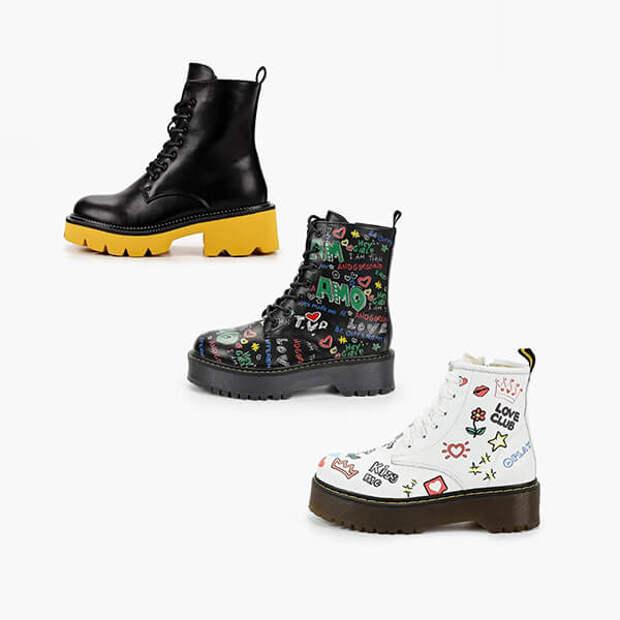 Как носить грубые ботинки осенью-зимой – 2020