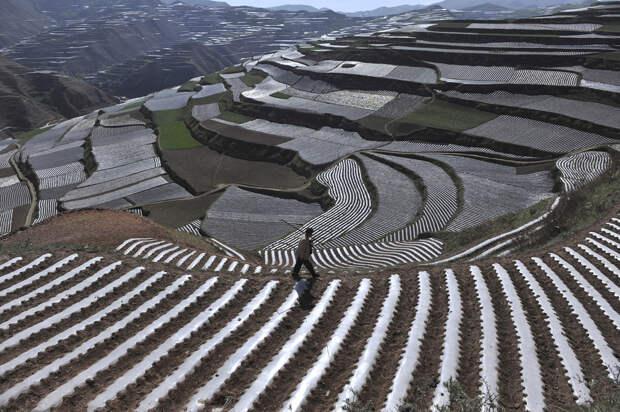 Красивые пейзажи китайской провинции Ганьсу
