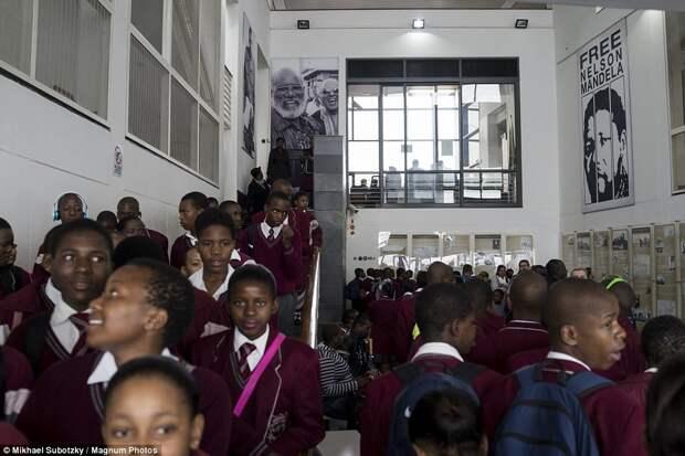 Южноафриканские школьники