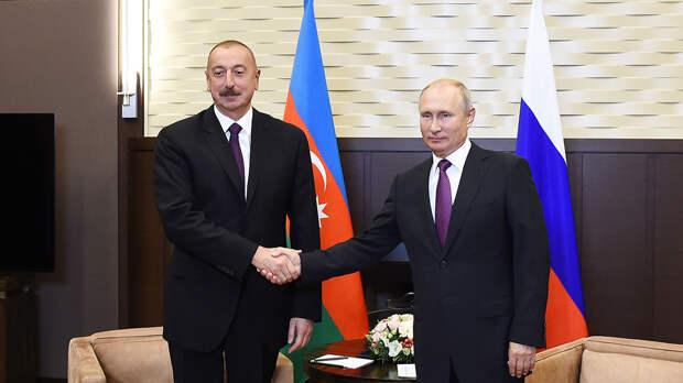 Путин и Алиев обсудили конфликт в Карабахе