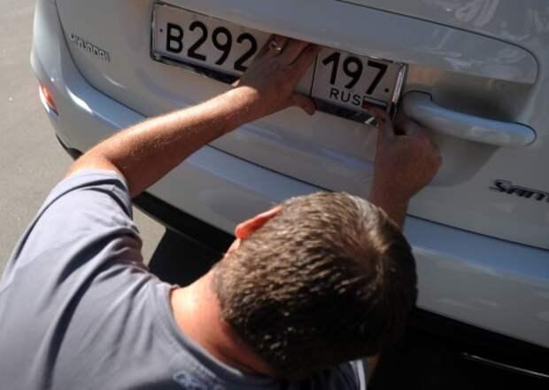 Дилеры рассчитывают к июню продавать новые автомобили вместе с номерами